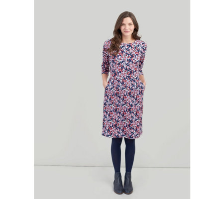 Joules Beth 3/4 Sleeve Dress