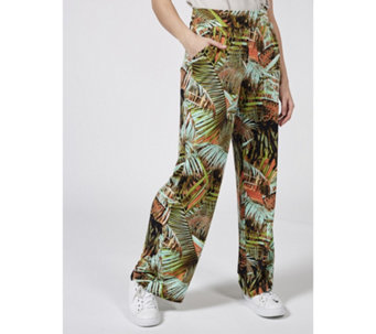 ab785cd540 Kim   Co Brazil Jersey Relaxed Trousers with Pockets Regular - 177682