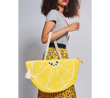 Pia Rossini Citrus Tote Bag