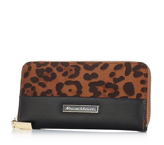 Frank Usher Animal Print Purse