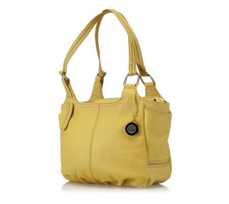 cb9692262a The Sak Modesto Distressed Leather Shopper Bag - QVC UK