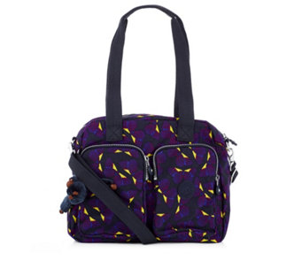 Kipling Kotecha Large Double Handle Zip Top Bag with Crossbody Strap - 160885
