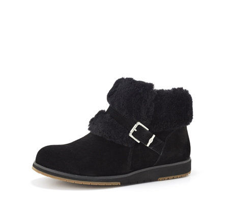 Emu Oxley Fur Cuff Low Boot