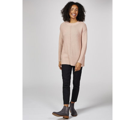 MarlaWynne Textured Pullover Sweater