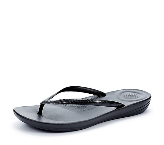 FitFlop IQushion Pearlised Flip Flop