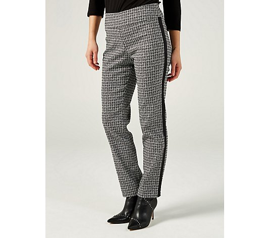 Mr Max Jacquard Modern Stretch Side Detail Trouser