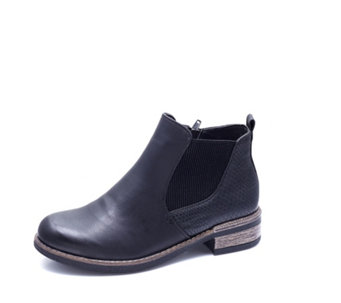 Rieker Embossed Chelsea Boot with Heel Pull - 166686