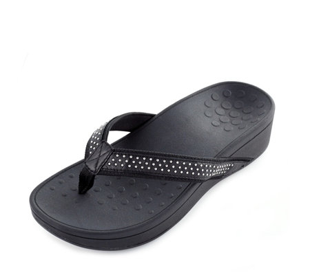 Vionic Orthotic Pacific Kehoe Wedge Sandal