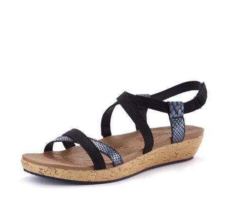 suitable for men/women good quality fashion style Skechers Brie Desert Dance Multi Stap Sandal - QVC UK