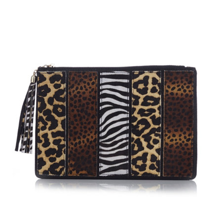 Moda In Pelle Zazzy Clutch Bag