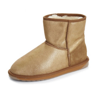 Emu Originals Collection Stinger Metallic Mini Water Resistant Sheepskin Boot - 165888