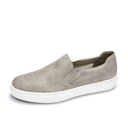 Rieker Metallic Dot Slip On Trainer