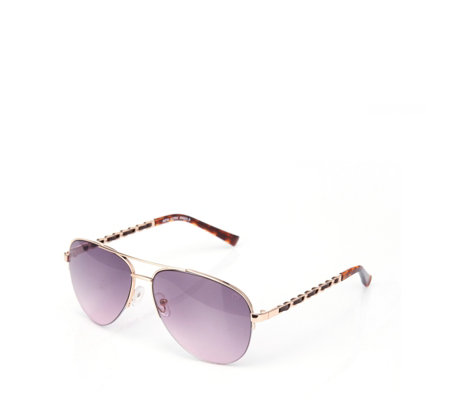 Ruby Rocks New York Aviator Sunglasses with Pouch