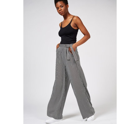 Phase Eight Arizona Striped Leg Trousers