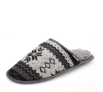 Muk Luks Men's Knit Gavin Slippers - 154590
