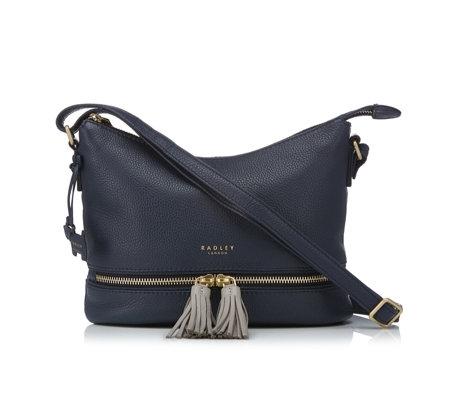 super specials new authentic quality design Radley Pickering Medium Zip Top Crossbody Bag - QVC UK