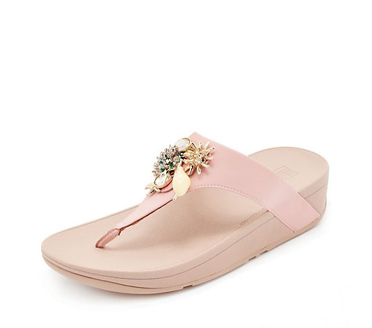FitFlop Fino Toe Post with Under the Sea Cluster