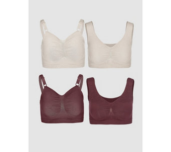 0bf0d395189f1 Lingerie   Shapewear · Vercella Vita Medium Control 2 Woven Lace   2 Plain  Bras Pack of 4 - 168891