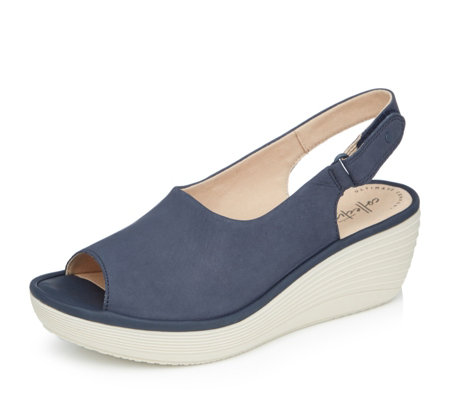 Clarks Reedly Shaina Wedge Standard Fit