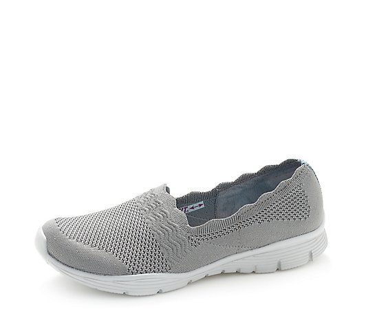Skechers Seagar Umpire Open Knit Trainers