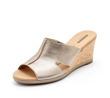 Clarks Lafely Mio Wedge Sandal Standard Fit