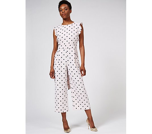 Phase Eight Verena Spot Culotte Jumpsuit