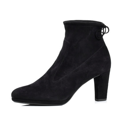 Peter Kaiser Cesy Suede Ankle Boot with Bow Detail