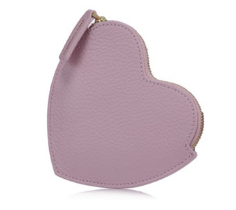 Lulu Guinness Small Heart Leather Coin Purse - 164094