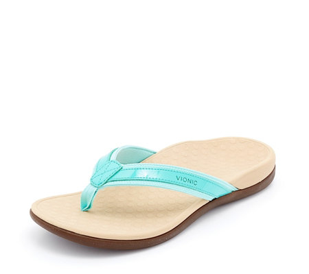 Vionic Orthotic Islander II Toe Post Sandal with FMT Technology