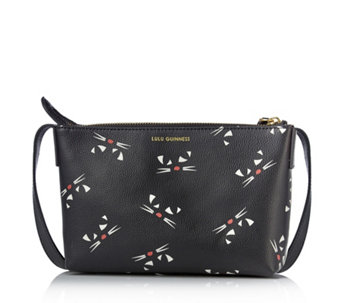 Lulu Guinness Marie Small Leather Crossbody Bag - 172194 b18f12c687
