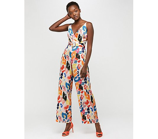 Monsoon Alice Animal Print Jumpsuit