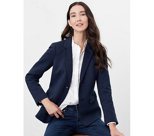 Joules Agatha Single Breasted Blazer