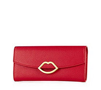 Lulu Guinness Trisha Grainy Leather Wallet - 164095