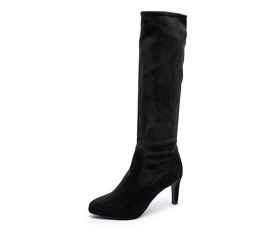 Peter Kaiser Paulene Stretch Suede Knee Boot