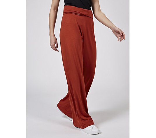 Luisa Conti Belted Jersey Trousers