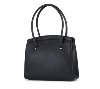 Lulu Guinness Large Nancy Grainy Leather Tote Bag - 160697