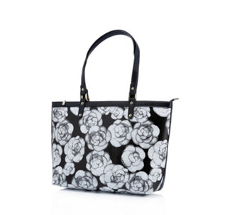 Butler & Wilson Flower Print Faux Leather Bag Duo - 170997