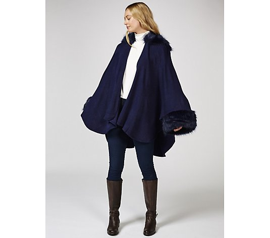 Joe Browns Fabulous Faux Fur Cape