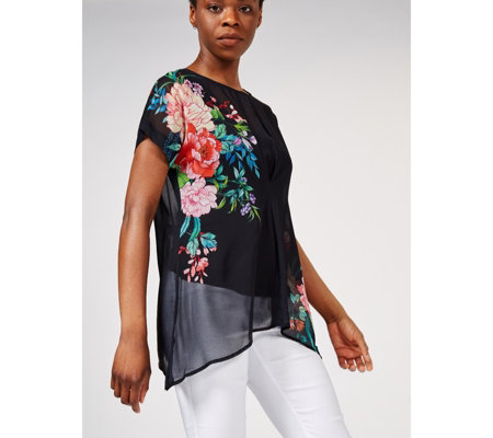Phase Eight Ellison Printed Floral Blouse