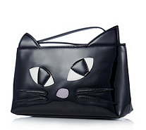 Lulu Guinness Kooky Cat Medium T Seam Pouch - 160698