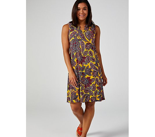 Ronni Nicole Sleeveless Printed Dress
