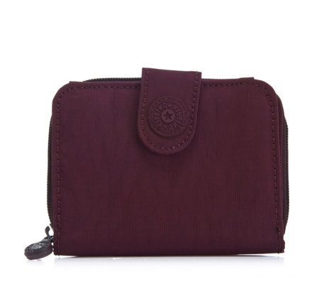 Kipling New Money Double Compartment Purse