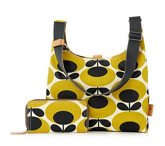 Outlet Orla Kiely Midi Sling Bag & Large Wallet Set
