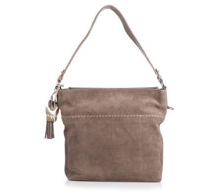 Ben de Lisi Leather West Hobo Bag