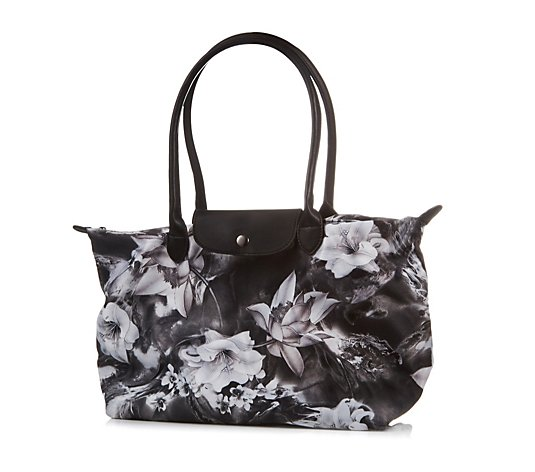 Butler & Wilson White Lillies Tote Bag