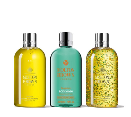 Molton Brown Zestful Bath & Shower Trio 300ml