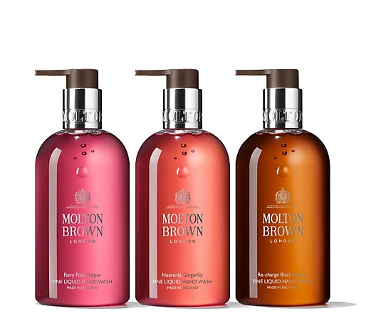 Molton Brown Exotic & Alluring Fine Liquid Hand Wash Trio 300ml