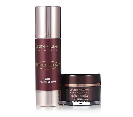 Judith Williams Retinol Science Night Serum 80ml & Night Cream 50ml