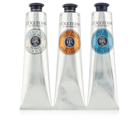 L'Occitane A Trio Of Shea Hand & Foot Collection