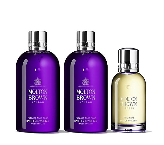 Molton Brown 3 Piece Relaxing Ylang Ylang Body & Fragrance Collection